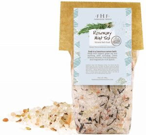 Organic Rosemary & Mint Bath Soak