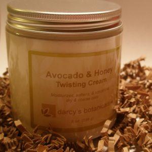 Avocado & Honey Twisting Cream