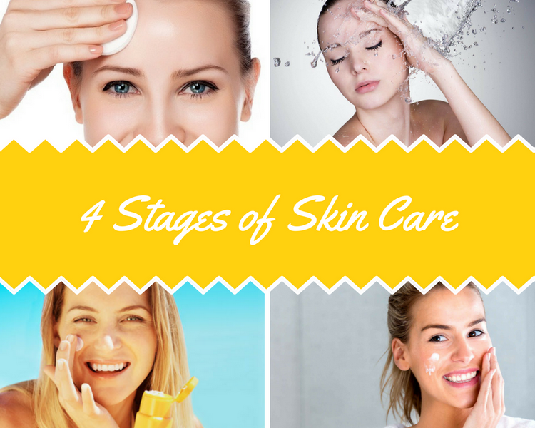 4 Stages of Skin Care
